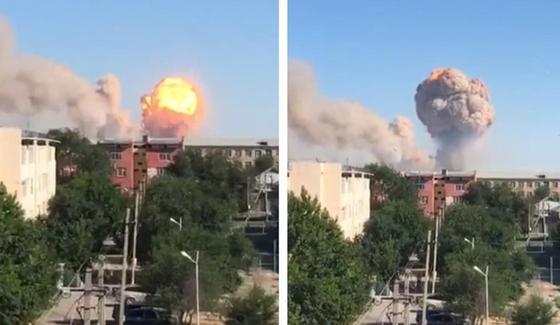 Взрывы в Арысе: количество пострадавших увеличилось