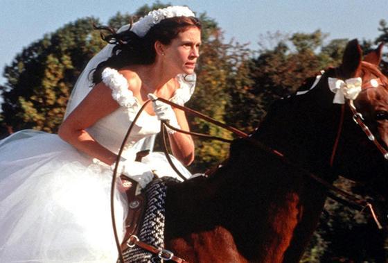 Фильмы про свадьбу: «Сбежавшая невеста»