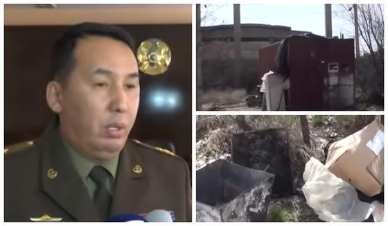 Тела иностранных рабочих нашли в контейнере в Шымкенте