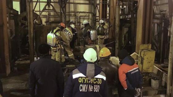 Пожар на шахте в Соликамске: спасатели нашли тела восьми человек
