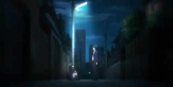 Кадр из аниме «Побрился. Затем привел домой старшеклассницу»