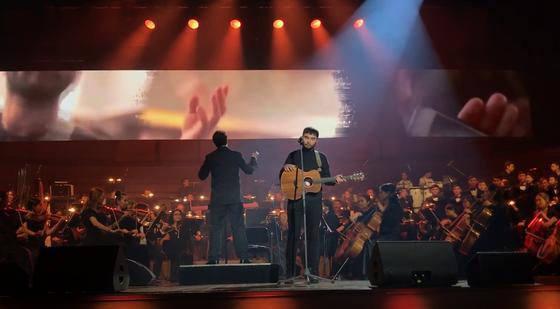 Галымжан Молданазар и симфонический оркестр