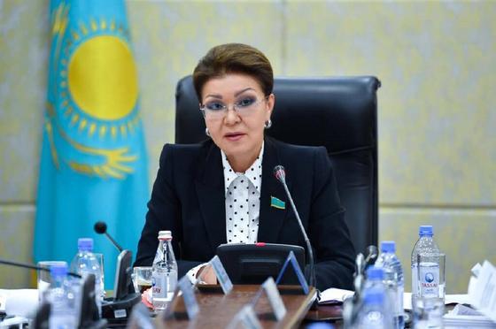 Дариға Назарбаева. Фото: senate.parlam.kz