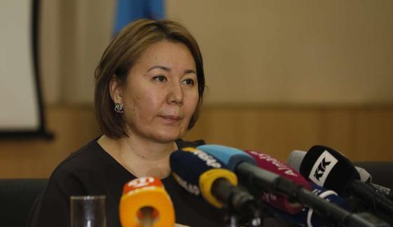 Жена главного врача ГКБ 4, Дина Тезекбаева