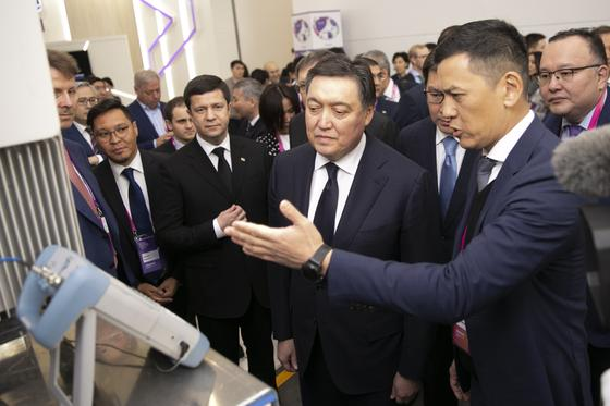 «Казахтелеком» продемонстрировал возможности 5G в рамках АЭФ