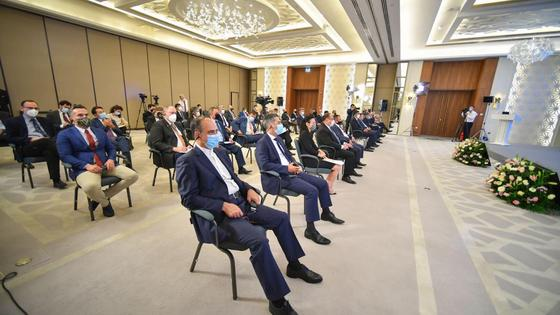 Встреча Маулена Ашимбаева с главами дипломатического корпуса