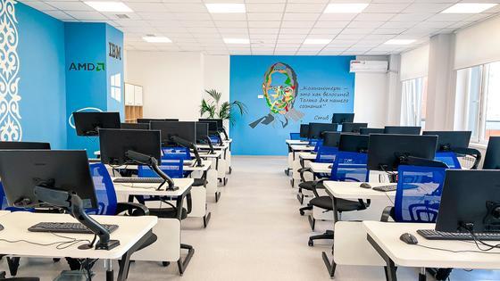 BI Group: кабинет информатики
