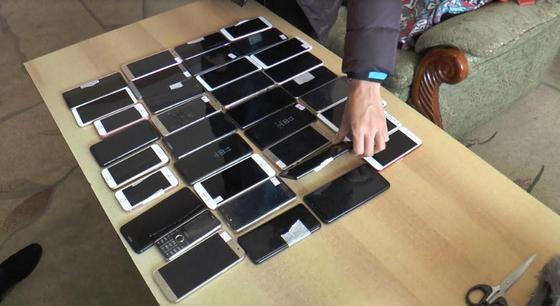 Полицейскими Алматы пресечен международный канал сбыта краденых телефонов