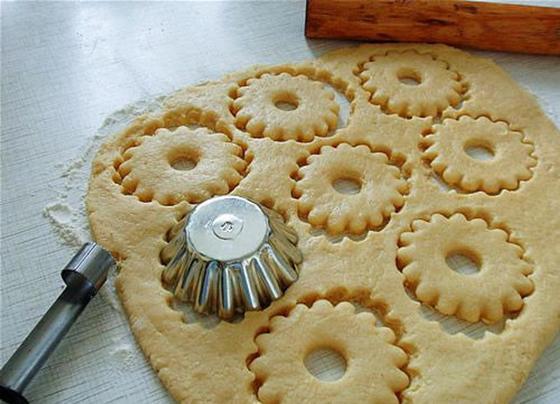 Песочное печенье: рецепт на маргарине