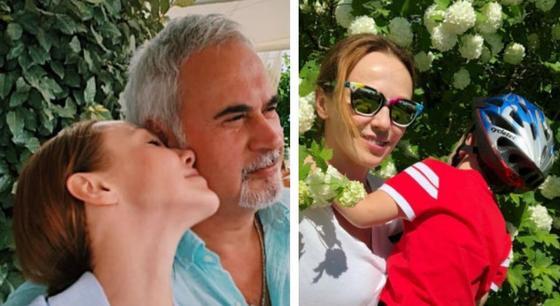 Альбина Джанабаева с Валерием Меладзе и сыном. Фото: Instagram