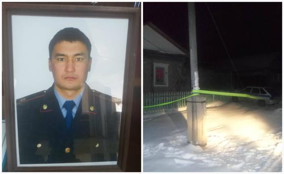 Полицейский погиб, спасая семью от семейного дебошира в Костанайской области