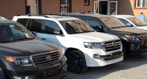 Угнанный Land Cruiser 200 вернули россиянину туркестанские полицейские (фото)