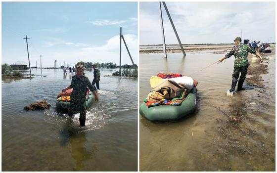 Каждому пострадавшему от наводнения в Южном Казахстане выплатят по 100 тыс. тенге