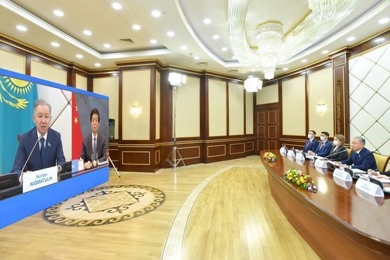 Нигматулин и спикер Парламента Китая