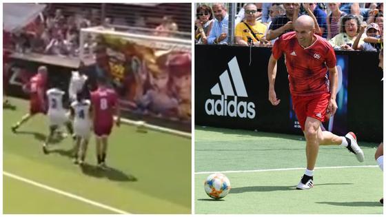 Зидан забил «королевский» гол женской команде (видео)