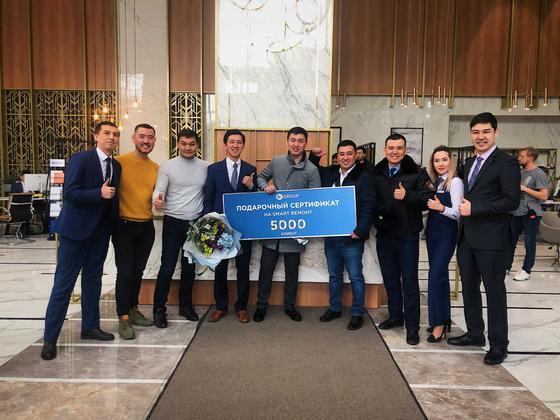Алматинец выиграл бесплатный ремонт в новостройке