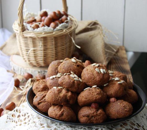 Печенье с тыквой и орехами