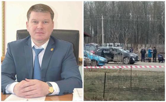 Автомобиль с чиновником взорвали в России (видео)
