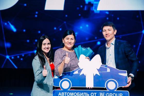 BI Group клиенті дәстүрлі ұтыс ойынында Астанадан пәтер ұтып алды!