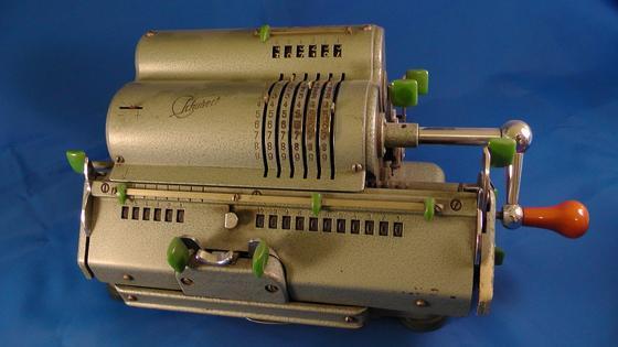 Старинная машина для подсчетов