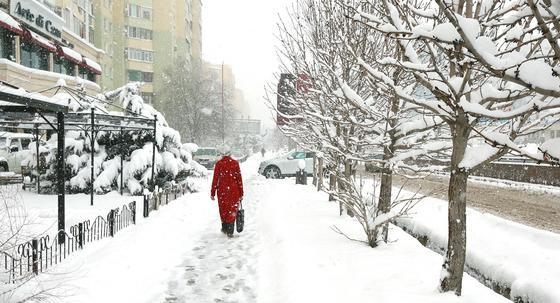 Прогноз погоды на декабрь в Казахстане