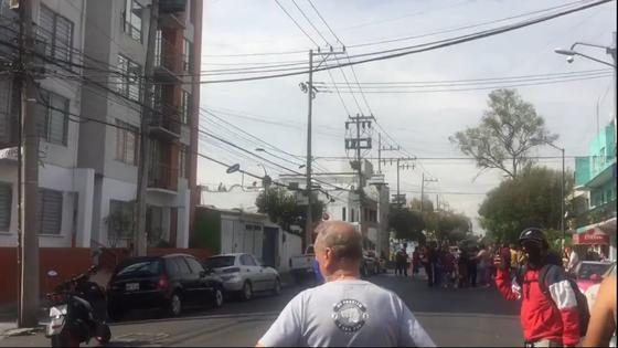 Сильное землетрясение в Мексике может вызвать цунами (видео)