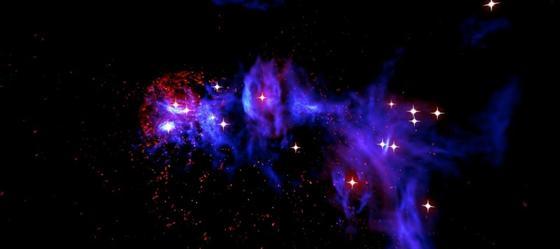 Захватывающее видео: как выглядит космос из самого центра Млечного Пути