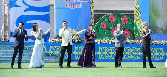 Празднование Наурыза прошло с размахом в Талдыкоргане