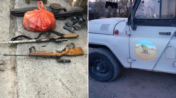 Егеря заподозрили в убийстве краснокнижных животных в Алматинской области (фото)