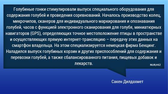 Распространение голубей с китайскими передатчиками в Казахстане объяснили в Минэкологии (фото)