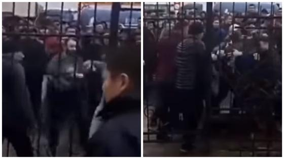 Массовая драка продавцов произошла на рынке в Алматы (видео)