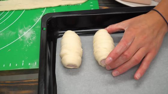 Завернутые в тесто сосиски