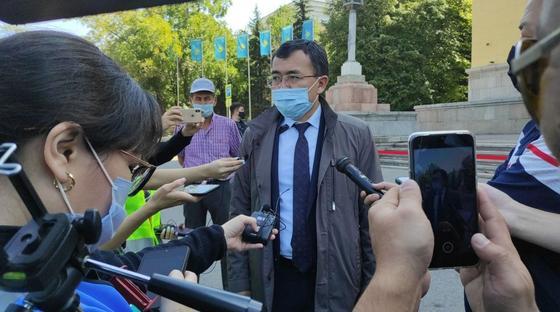 Заместитель руководителя управления общественного развития Алматы Айдар Есенбеков