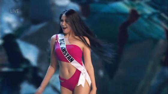 Сабина Азимбаева на «Мисс Вселенная – 2018» удивила жюри свои хобби (фото, видео)