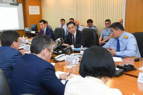Сагинтаев: Главным в работе полиции должно стать повышение доверия населения