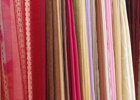 Цветные ткани