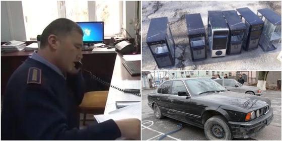 Преступную группу ликвидировали в Туркестанской области