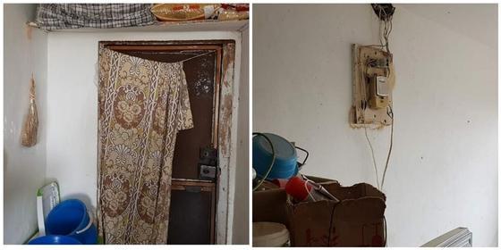 Многодетная семья замерзает в комнате старого общежития в Актобе