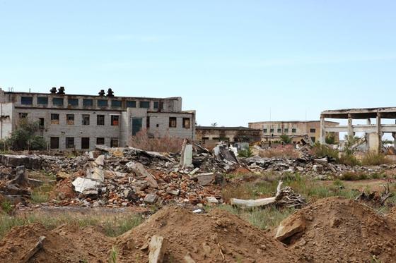 Заброшенные города Казахстана