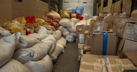Из Караганды в Арысь отправлена гуманитарная помощь
