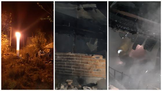 Дача сгорела в Уральске: погибли 3 человека