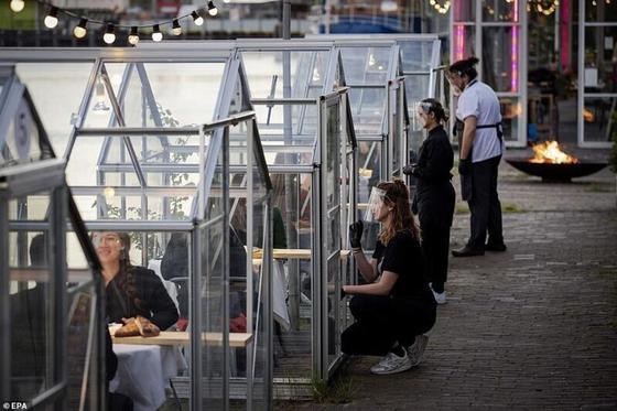 Голландияда карантин кезінде жұмыс істеген ерекше мейрамхана жұртты таңғалдырды