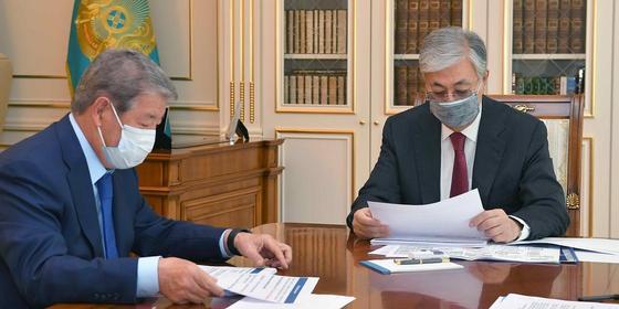 Қазақстан президенті Ахметжан Есімовті қабылдады