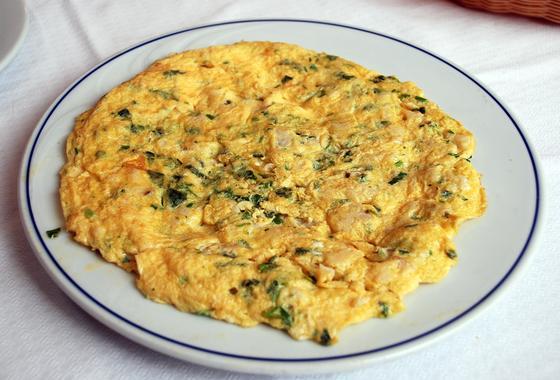 Рецепт омлета с молоком на завтрак