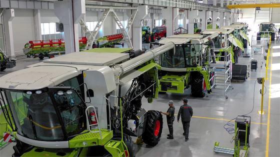 Завод по сборке сельскохозяйственной техники CLAAS
