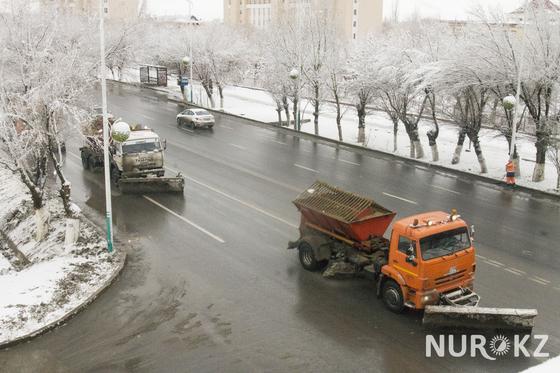Кызылорду замело и затопило в праздники (фото)