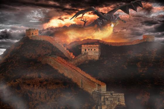 Существуют драконы