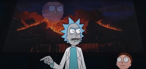 Эпизод из 2-го сезона «Рика и Морти»