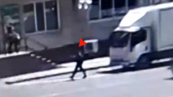 Подозреваемый в серии краж попал на видео в Нур-Султане