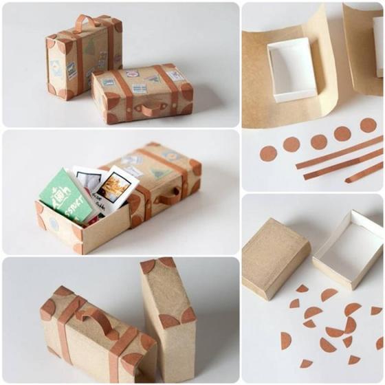 Удобные коробочки своими руками для домашних мелочей